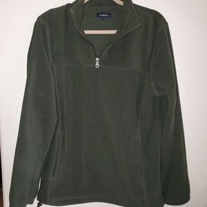 Croft and barrow hunter green pullover